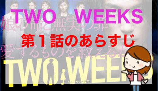 「TWO WEEKS」第1話のあらすじ