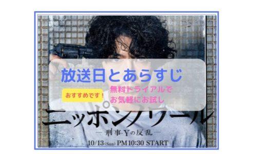 「ニッポンノアール -刑事Yの反乱-」放送日とあらすじ