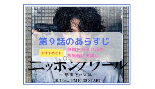 「ニッポンノアール -刑事Yの反乱-」第9話のあらすじ