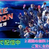 FAKE MOTION(フェイクモーション) -卓球の王将-の見どころ