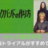 (ジャニーズWEST)藤井流星さん・神山智洋さん 出演 ドラマ「正しいロックバンドの作り方」でHuluで配信中