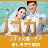 北川景子さん、永山瑛太さん主演「リコカツ」、オリジナルストーリーの「リコハイ」もおすすめ