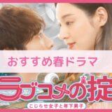 栗山千明さん主演「ラブコメの掟~こじらせ女子と年下男子~」