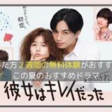 中島健人&小芝風花W主演!火9ドラマ 彼女はキレイだった